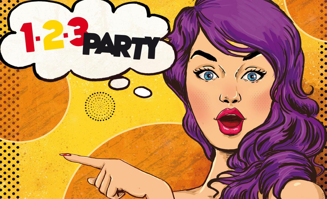 De Eeewent-Denis - 1-2-3 Party
