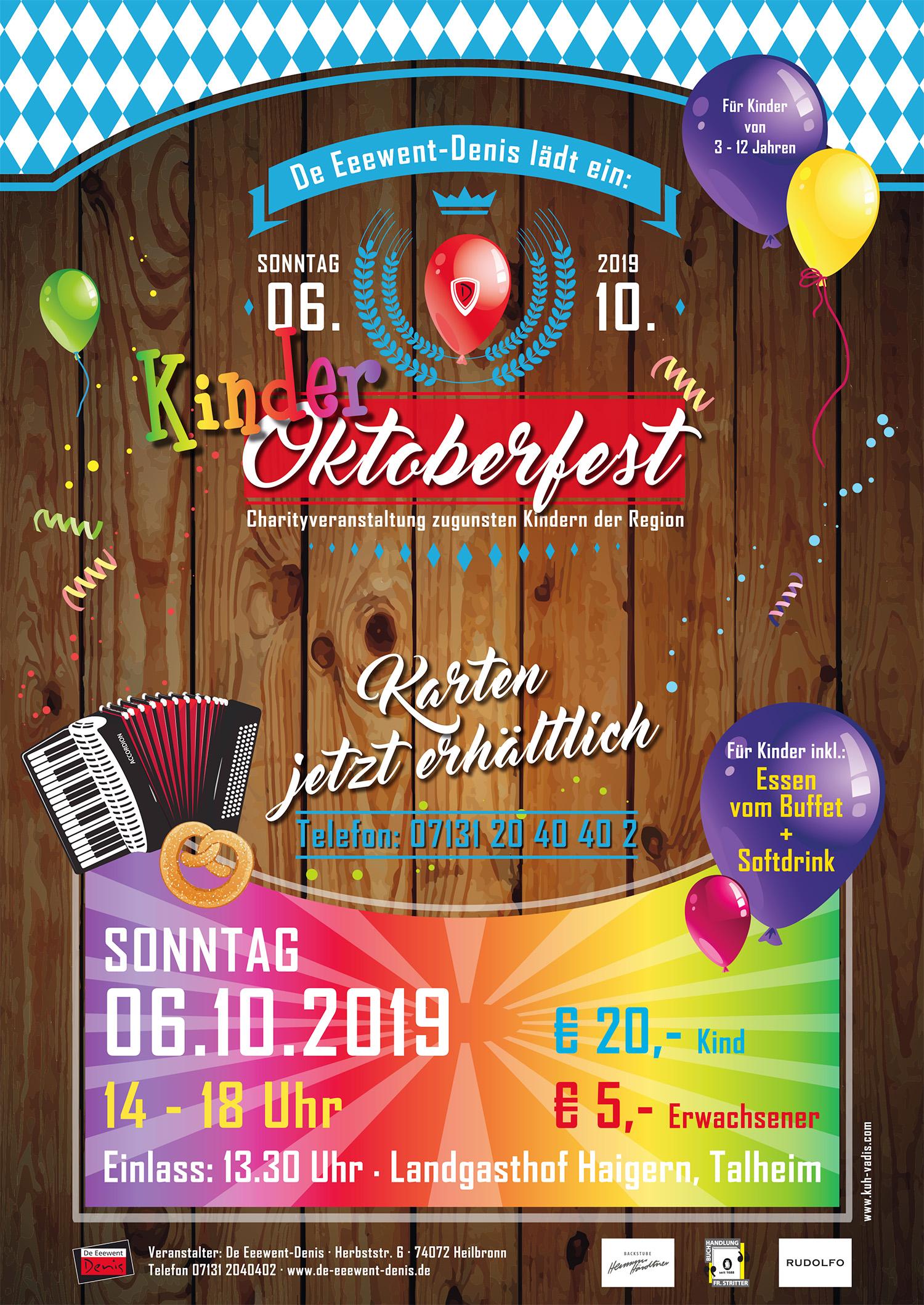 KINDER-Oktoberfest 2019